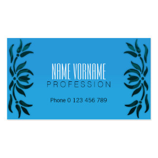 flowers Double-Sided standard business cards (Pack of 100)
