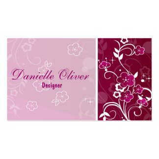 Flowers Business Card