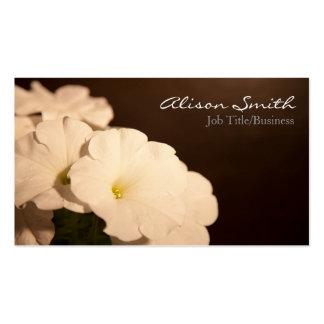 Flowers Business Card Tarjetas De Visita