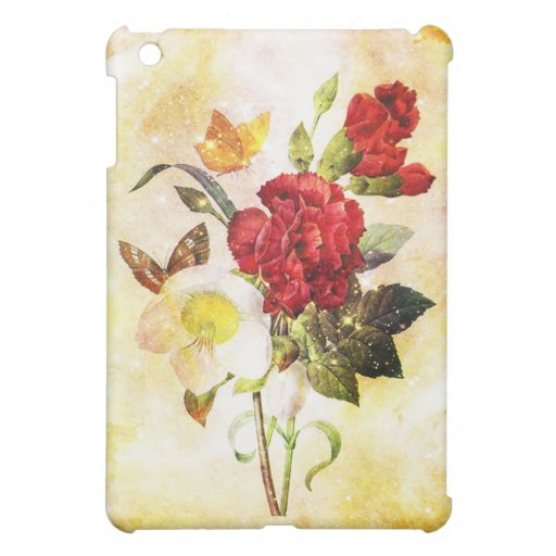 Flowers & Butterflies Case For The iPad Mini