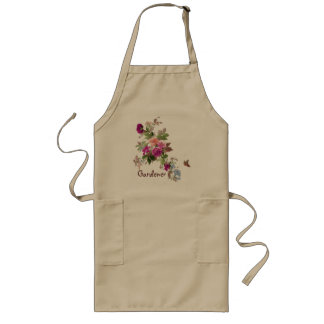 Flowers & Butterfly l Garden of Happiness Long Apron