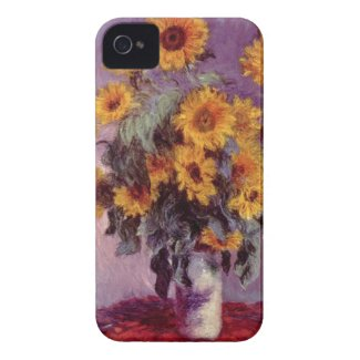 Flowers by Claude Monet iPhone 4/4S Case Iphone 4 Covers