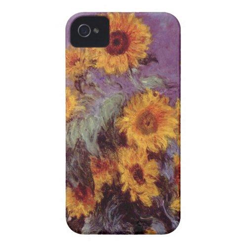 Flowers by Claude Monet iPhone 4/4S Case casemate_case