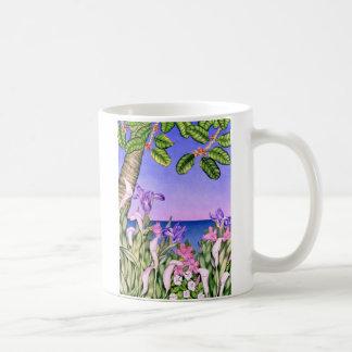 Flowers by the Sea Coffee Mug