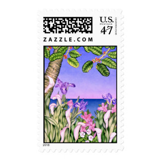 Flowers by the Sea Postage