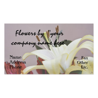 Flowers by You Business Cards