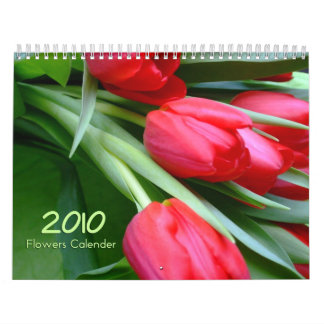 Flowers Calendar 2010