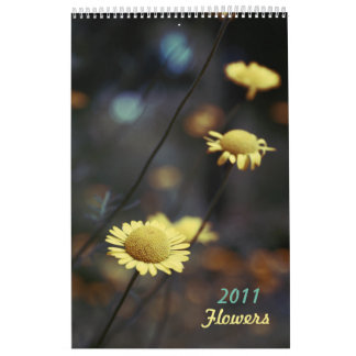Flowers Calendar 2011