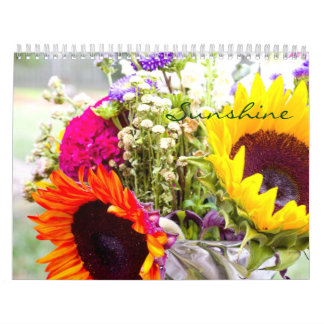 Flowers Calendar - Photography - Sunshine