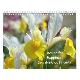 FLOWERS CALENDAR Sunshine Friends Calendar Gifts