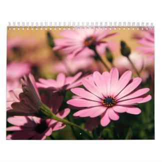 Flowers calender calendar