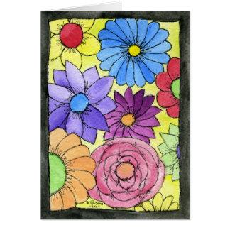 Flowers! Greeting Card