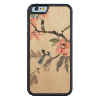 Flowers Carved Maple iPhone 6 Bumper Case