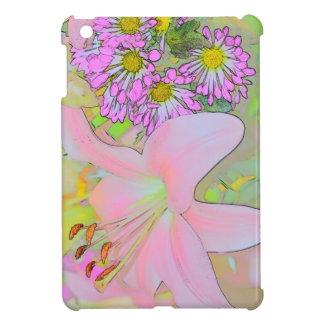 Flowers Case Savvy iPad Mini Glossy Finish Case iPad Mini Cases