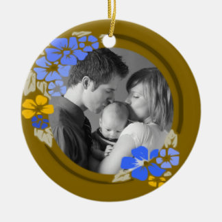 Flowers Christmas Tree Ornament