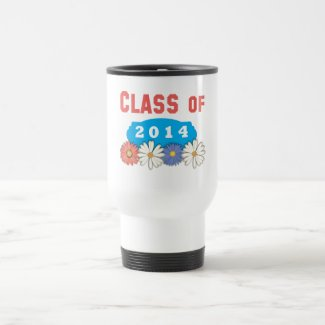Flowers Class of 2014 Coffee Mug