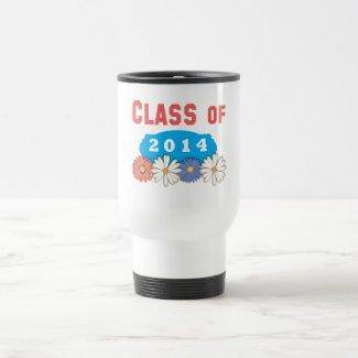 Flowers Class of 2014 Coffee Mug