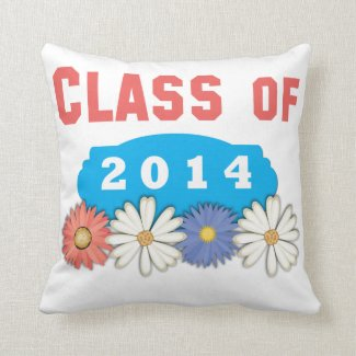 Class of 2014 Throw Pillows