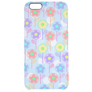 Flowers Clear iPhone 6 Plus Case