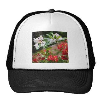 flowers collage trucker hat