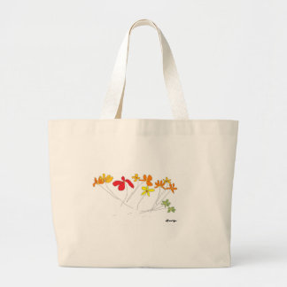 """FLOWERS"" Collection Large Tote Bag"