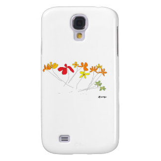 """""""FLOWERS"""" Collection Samsung Galaxy S4 Case"""