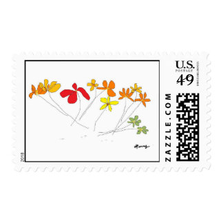 """FLOWERS"" Collection Stamps"