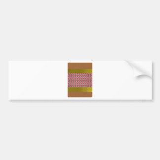 Flowers Color Shades Tones Texture Template gifts Bumper Sticker