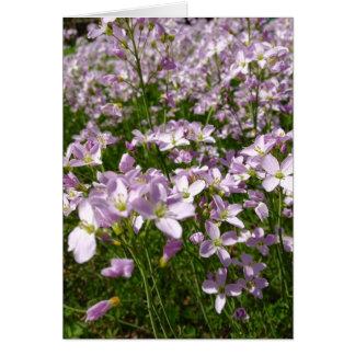 Flowers Condolence Card