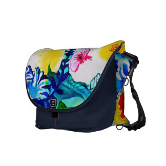 Flowers. Courier Bag