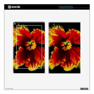 Flowers, Custom Kindle Fire Skin