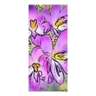 FLOWERS CUSTOM RACK CARDS