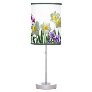 Flowers / Daffodils Table Lamp