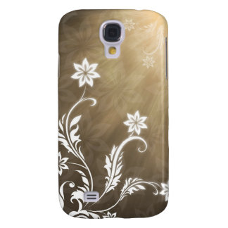 Flowers decoration samsung galaxy s4 cover