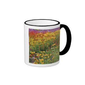 Flowers Display at International Peace Gardens Ringer Coffee Mug