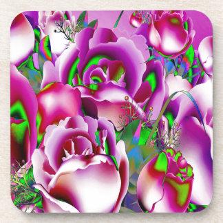 Flowers Drink Coaster
