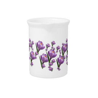 FLOWERS DRINK PITCHERS