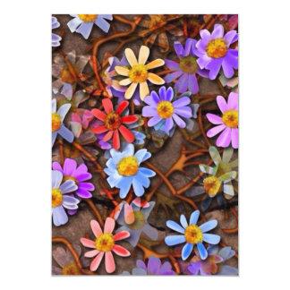 Flowers everywhere card