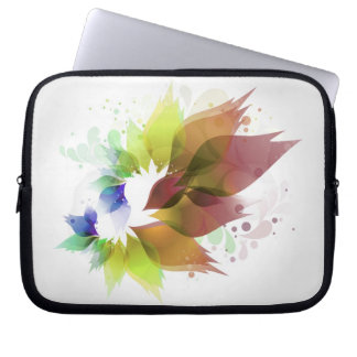 "Flowers Family Logo 10"" Device Sleeve Laptop Computer Sleeve"