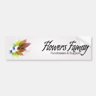 Flowers Family Logo Bumper Sticker