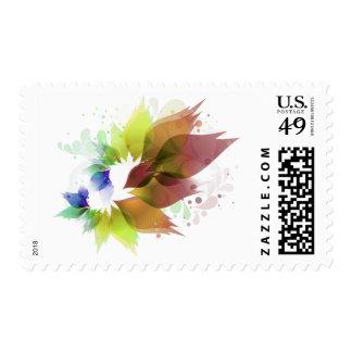 Flowers Family Logo Stamp