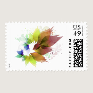 Flowers Family Logo Stamp
