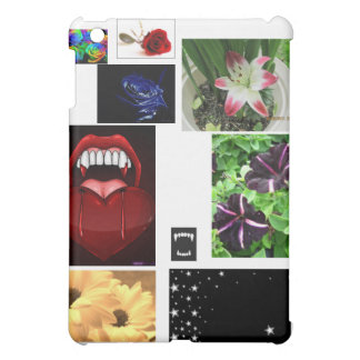 Flowers,Fangs,and Stars! Case For The iPad Mini