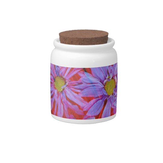 Flowers & Feathers Candy Dish