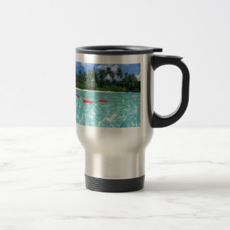 Flowers Floating in Water - Great Gift Idea Travel Mug