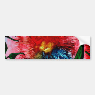 Flowers, Floral, Bumper Sticker