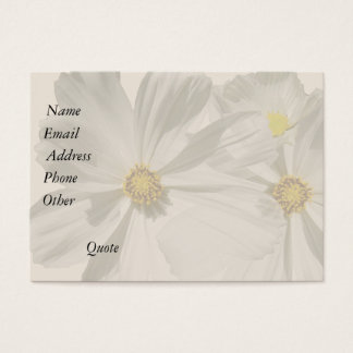 Flowers Floral Garden Blossom Photography Business Card