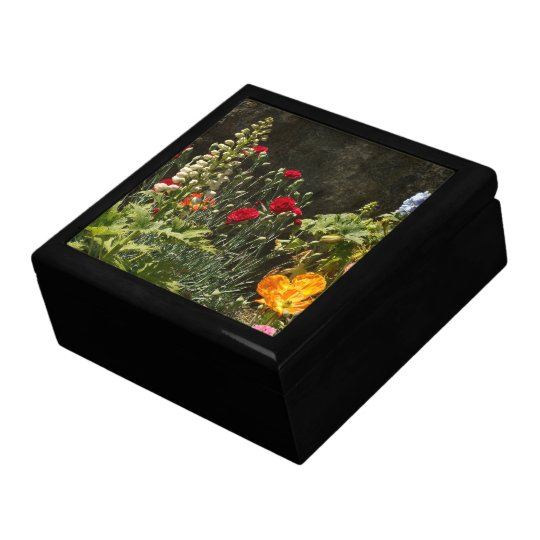 Flowers Floral Garden Blossoms Photography Jewelry Box