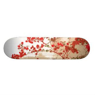 Flowers Floral Garden Blossoms Skateboard Deck