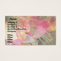 Flowers Floral Garden Photography Business Card